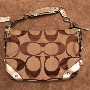 Coach Large C Logo Hobo bag